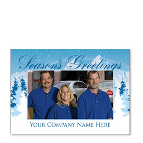 Automotive Christmas Photos Postcards - DSG 7
