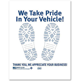Poly Back Floormat – We Take Pride (500)