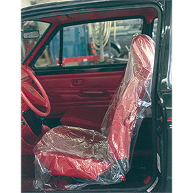 Plastic Car Seat Covers .8 mil - 250 Roll