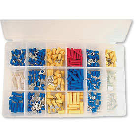 360-Piece Wire Terminal Assortment Kit