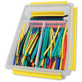 235-Piece Heat Shrink Tube Assortment