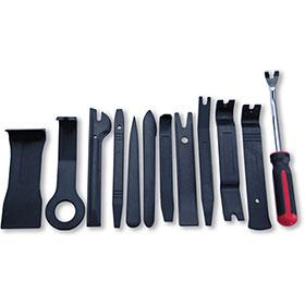Dent Fix Trim Panel Scraper Set - 12 Pc with Canvas Pouch