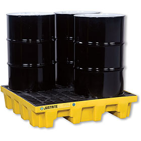 Justrite 4 Drum Spill Containment Pallet
