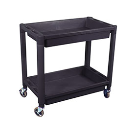 ASP Heavy-Duty 2-Shelf Utility Cart