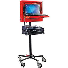 Goliath Laptop Locker with Mobile Stand & Printer Shelf