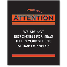 Contemporary Signs - Attention - Version 2