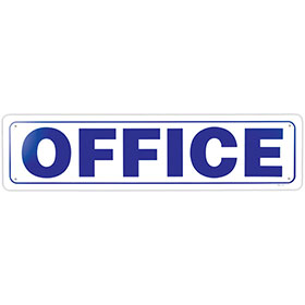 "Office Signs - OFFICE - 24"" x 6"""