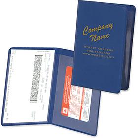 folding proof of insurance holder - Insurance Card Holder