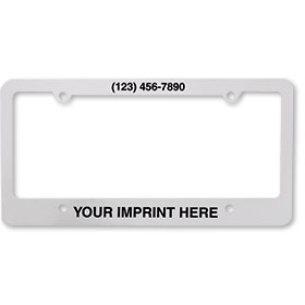 License Plate Frames - 4 Hole