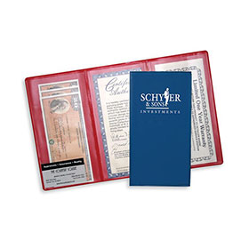 3-Pocket Auto Insurance Policy Wallets