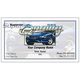 Magnetic Business Cards - 4 Color