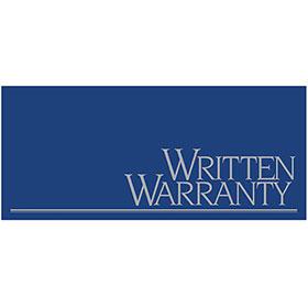 Auto Repair Written Warranty - Metallic Ink, Blue and Silver