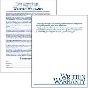 CertifiedFirst - Written Warranty