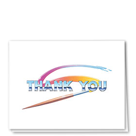 Auto Repair Thank You Cards  - Brushed