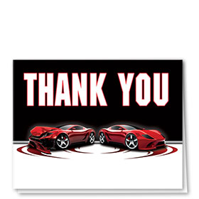 Auto Repair Thank You Postcards - Before & After