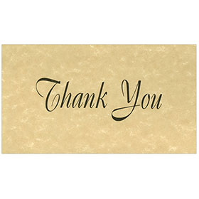Auto Repair Thank You Postcards - Tan Parchment