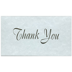 Auto Repair Thank You Postcards - Blue Parchment