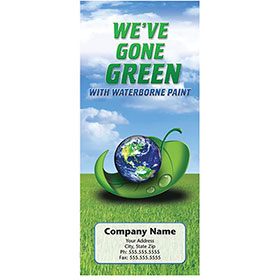Auto Repair Brochures - Go Green Waterborne Paint