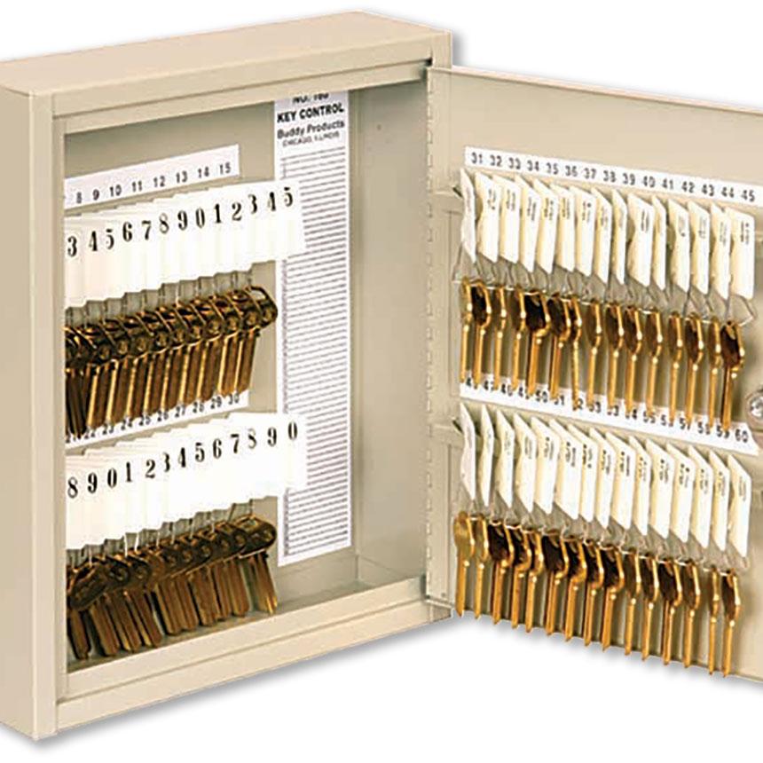 Key Storage Cabinet - 60 Keys - Numbered