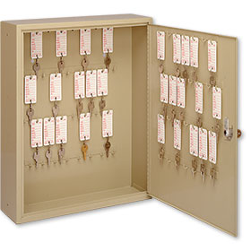 60-Key Locking Storage Cabinet