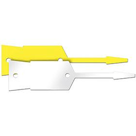 Large Bayonet Style Plastic Key Tags