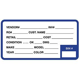 Parts Labels (250)