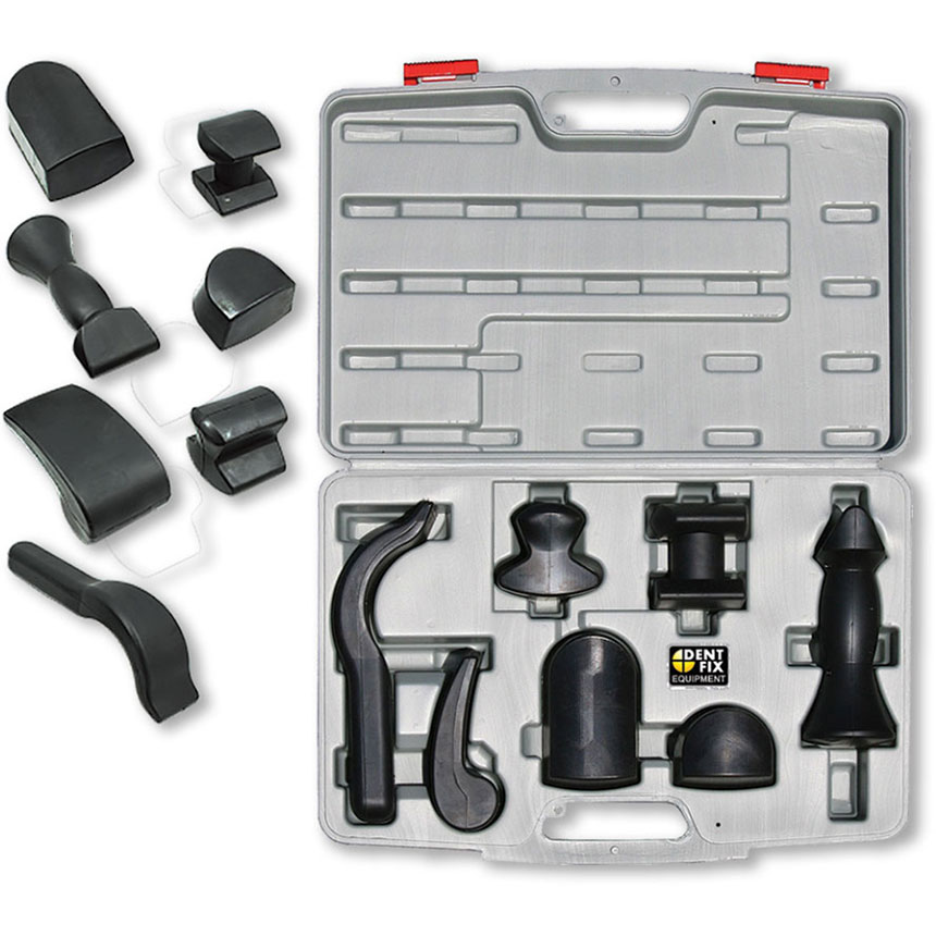 Dent Fix 7 Piece Rubberized Dolly Set