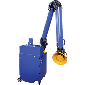 1HP Rollout Portable Exhaust System