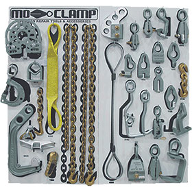 Mo-Clamp Deluxe Tool Board Set