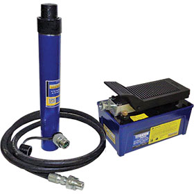 10-Ton Ram and Pump Set