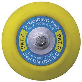 "Astro Pneumatic 3"" Sanding/Polishing Back-Up Pad 20302P"