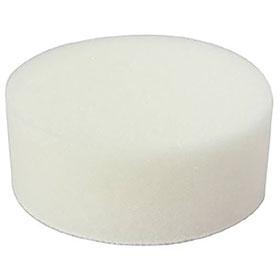 "Astro Pneumatic 3"" White Polishing Foam Pad 20306W"