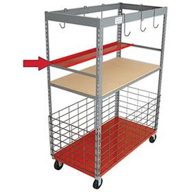 Parts Caddy™ Tray Kit (w/Brackets)
