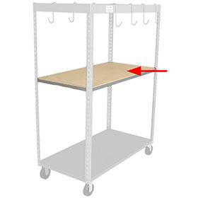 Parts Caddy™ Wood Shelf Kit by PROLific™