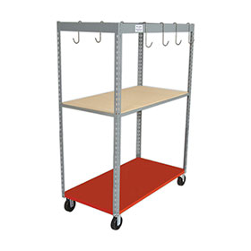 Parts Caddy with Wood Shelf by PROLific™