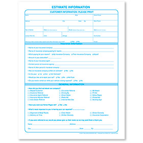 Customer Information Sheets - Vertical (Expanded)