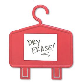 Plastic Auto Repair Mirror Hangers - Dry Erase