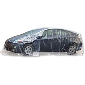 Large Plastic Car Covers - Clear (30)