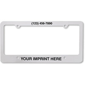 License Plate Frames - 4 Hole