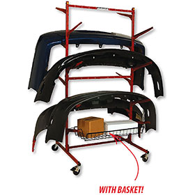 Mega Bumper Rack & Basket Kit