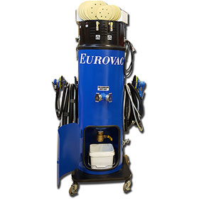 Eurovac II - 2 Man Wet Mix Dust Collector NFPA