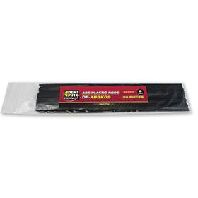 Dent Fix ABS Flat Plastic Rods 9mm DF-ABBK09