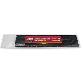 Dent Fix ABS Flat Plastic Rods 15mm DF-ABBK15