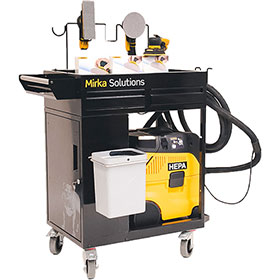 Mirka Smart Cart Dust-Free System - Pneumatic MUS-AEBSK-CE