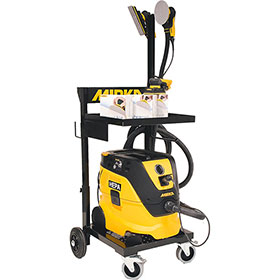 "Mirka Trolley Dust-Free System – 6"" DEROS (Electric) MTDFS-MID650"