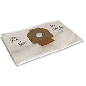 Mirka Vacuum Fleece Dust Bag, 5/Pkg MV-912DB