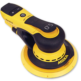 "Mirka DEROS 6"" 5.0mm Orbit, Vacuum-Ready Finishing Sander with Case MID65020CAUS"