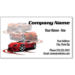 Auto Repair Business Card -Before & After Fade Out