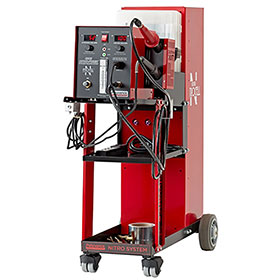 Polyvance Digital Nitro-Fuzer Nitrogen Plastic Welder w/ Cart, Single Gas 8203