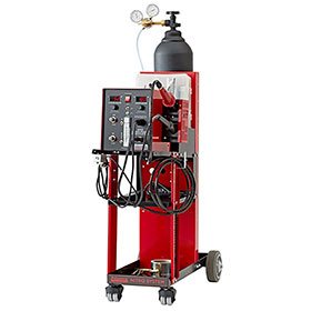 Polyvance Digital Nitro Fuzer Nitrogen Plastic Welder w/ Cart, Dual Gas 8202